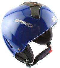 BRIKO CROSS OVER Free Ride Snow Ski Snowboard Helmet 60 XXL Blue ASTM NEW