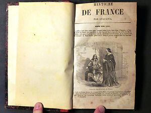 Livre Histoire de FRANCE jusqu'au 1789. Par Anquetil. Tome 5°. Paris 1862