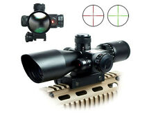 Tactical rifle scope with red laser sight 2.5~10X 40mm Scope Reflex Red/Green UU