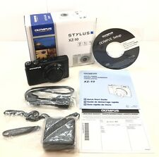 "Olympus XZ-10 Stylus iHS 12MP iZuiko Digital Camera, 3""TouchLCD Black Old Model"