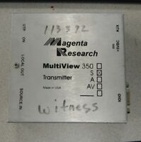 Magenta Research Launches MultiView 350 MV350S Transmitter - USED