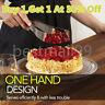Stainless Steel Perfect Cake Slicer Cutter Serving Kitchen Utensils Gadget US