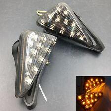 Smoke Euro LED Flush Mount Turn signal lights For Honda CBR 929RR 954RR 1000RR