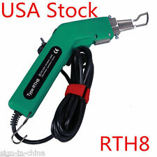 Usa Stock! 100W 110V Duarble HandHold Banner Rope Sponge Hot Knife Cutter Tool