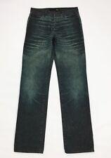 Just Roberto Cavalli jeans donna usato w29 tg 43 gamba dritta verde hot mom T129