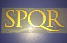 riproduzione sponsor SPQR roma - lazio x maglia roma nike nuovo new