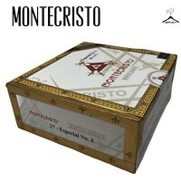 Montecristo White Series 27 Special No 3 Empty Wooden Cigar Box