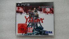 Yakuza Dead Souls PS3 PROMO Rare for Sony PlayStation 3 Yakuza PS3 Promotional.