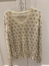 chinti and parker 100% cashmere Multi Hearts Sweater, UK8