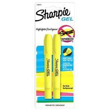 Sharpie Gel Bullet Highlighter, Fluorescent Yellow 2 ea (Pack of 5)