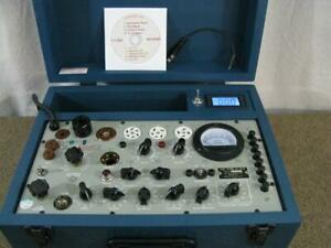 TV-7 D/U Tube Tester - New Meter & Added mA Meter - New Custom Case *CALIBRATED*