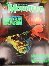 Mystery Of The Wax Museum Famous Monsters 113 1974 Cover Poster Warren 20x27