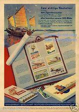 Reklame 1932 GEG Zigarettenbilder Zigarette Jaka Zeppelin Junke Do X Lilienthal
