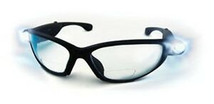 SAS Safety 5420-20 2.0X LED Inspector Readers Safety Glasses