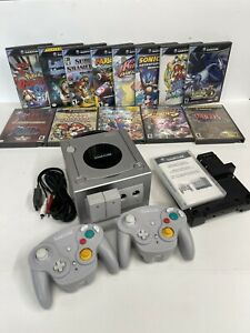 Gamecube ultimate bundle with 13 games/ 2 Wavebird Controllers & GBA Player