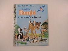 Walt Disney's Bambi Friend of the Forest, A Little Golden Book, 1991