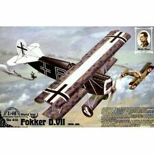 Roden 418 Fokker D.VII OAW Mid Production 1/48 plastic scale model kit