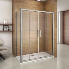Porte de douche coulissant 140x70x185cm porte de douche avec la paroi de douche