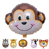 Cute Big Size Animal Head Balloons Helium Foil Ballons birthday theme Party UK