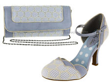 Ruby Shoo Phoebe Womens Wedding Party Kitten High Heeled Smart Strap Shoe UK 6 / EU 39