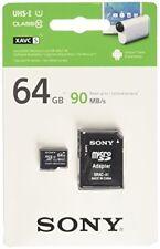 Cartes mémoire Sony microsdhc pour appareil photo et caméscope
