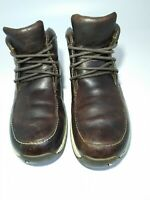 Timberland Men's Chukka Ankle Boots Soze 8.5M Brown  Leather Lace Up