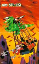 1997 LEGO Fright Knights Witchs Windship (6037) COMPLETE with Instruction Manual