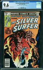Fantasy Masterpieces #3 CGC 9.6 1980 RARE DOUBLE COVER! Silver Surfer! L10 cm