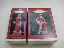 Marilyn Monroe Hallmark Keepsake Ornament 1997 and 1999