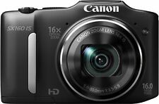 Canon Digital Camera Powershot Sx160Is About 16 Million Pixels Optical 16X Zoom