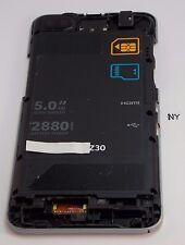 Mid Frame Camera Lens BlackBerry Z30 STA100-5 RFY111LW TELUS Phone OEM #640-A