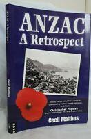 ANZAC A Retrospect by Cecil Malthus - Very Good Condition!
