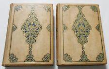 1892 THE ALHAMBRA - 2 beautiful vols illustrated