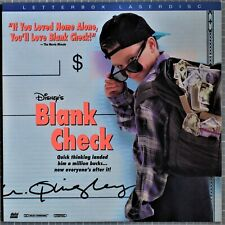 Disney's Blank Check - Letterboxed Edition - Laserdisc - Pre-Owned