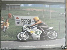 S0430-PHOTO-KEES SCHERMER YAMAHA 250 CC RAALTE 1974 NO 11 HAAGS MOTORCENTRUM