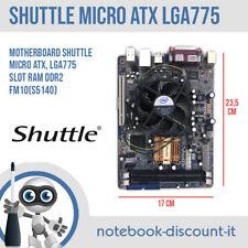 Motherboard Shuttle FM10(S5140) Micro ATX CPU Socket LGA775 Slot Ram DDR2 Bezel