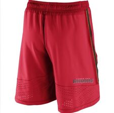 Nike Men's Nfl Tampa Bay Buccaneers Red Speed Vent Shorts New Sz S
