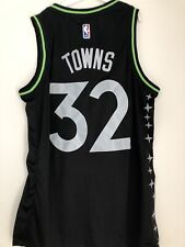 Maillot NBA Minnesota Timberwolves Karl Anthony Towns Taille M