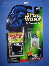 """Star Wars 1998 R2-D2 w/Spring Loaded Pop Up Scanner FF POTF 3.75""""  Figure MOC!"""