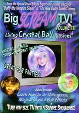 BIG SCREAM TV VOL. 3: LIVING CRYSTAL BALL - VIRTUAL HALLOWEEN HAUNTED HOUSE DVD!