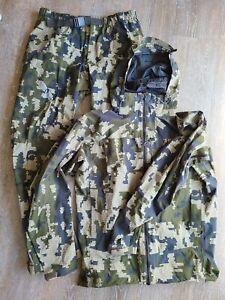 Kuiu Chugach NX Rain Jacket And Pants Verde Medium