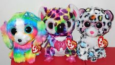 "Ty Beanie Boos Set- LOLA, SCOUT & TILLEY 6"" (Claires Exclusive) 2018 NEW IN HAND"