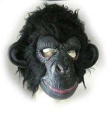 Black Chimp Chimpanzee Planet of the Apes Monkey Ape Adult Latex Halloween Mask