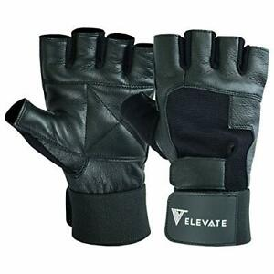 Weight Lifting Gloves Premium Quality Leather Gym Gloves