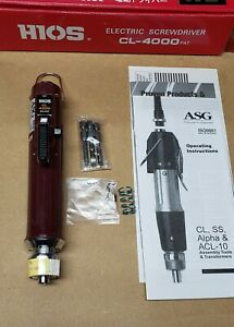 BRAND NEW! HIOS CL-4000 Electric Torque Screwdriver