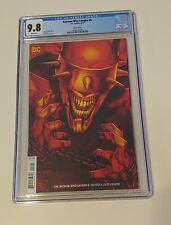 Batman Who Laughs #6 CGC 9.8 Variant Cover