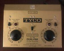 Vintage Tyco #898 Dual Pack Power Supply HO Transformer, 110-120V, 60 AC