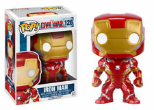 Figurines et statues jouets en emballage d'origine ouvert pour comics, super-héros avec iron man