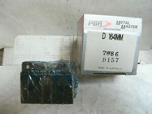 104.14790 FRONT SET Posi Quiet Semi Metallic Brake Disc Pads + Hardware Kit