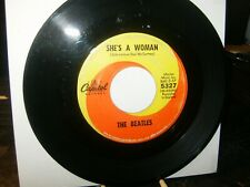 The Beatles 45 VG 1969 Swerl Capitol LBL / British Invasion / Pop / Stamp Nos